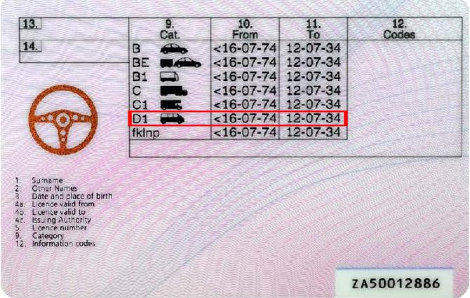 Codes Driving License Uk Glasses